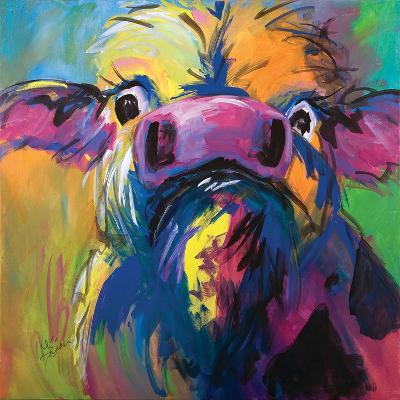 Colorful Cow-Terri Einer-Art Print