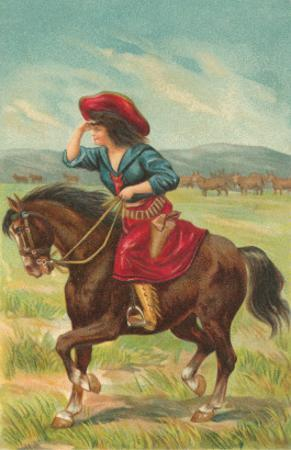 Colorful Cowgirl