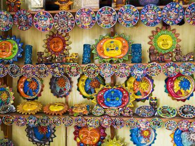 Colorful Crafts For Sale, Valladolid, Yucatan, Mexico-Julie Eggers-Photographic Print