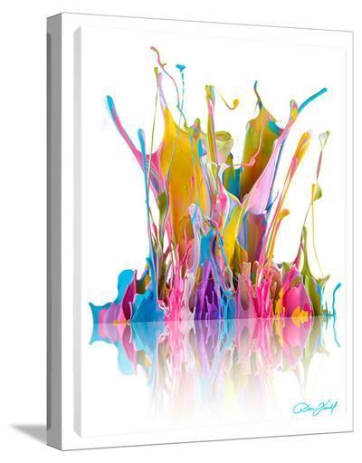 Colorful Crescendo-Don Farrall-Stretched Canvas Print
