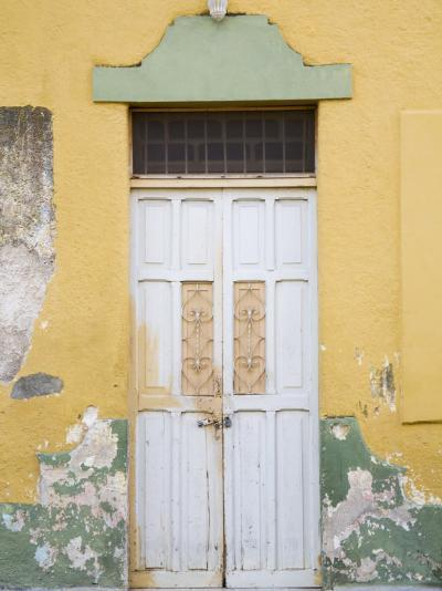 Colorful Doors, Merida, Yucatan, Mexico-Julie Eggers-Photographic Print
