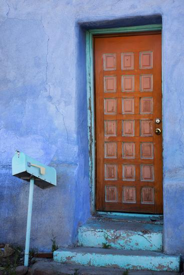 Colorful Doorway, Barrio Historico District,Tucson, Arizona, USA-Jamie & Judy Wild-Photographic Print