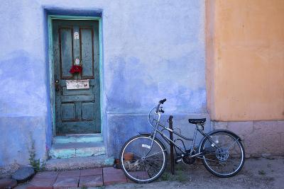 Colorful Doorway, Barrio Historico District,Tucson, Arizona, USA-Jamie & Judy Wild-Photographic Print