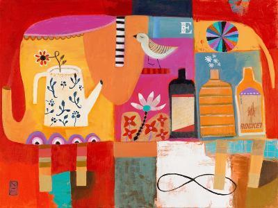 Colorful Elephant-Nathaniel Mather-Art Print