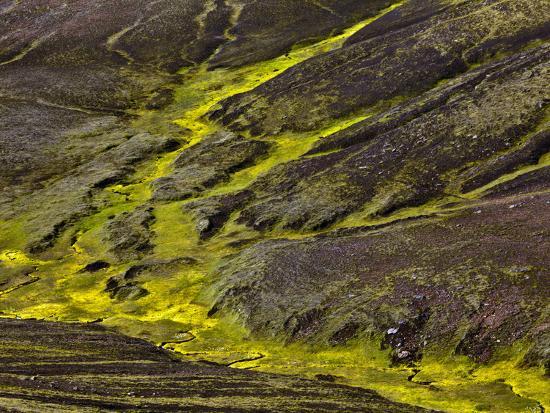 Colorful Erosion Pattern, Iceland-Adam Jones-Photographic Print