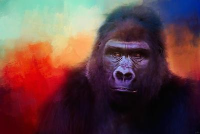 Colorful Expressions Gorilla-Jai Johnson-Giclee Print