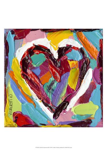 Colorful Expressions III-Carolee Vitaletti-Art Print