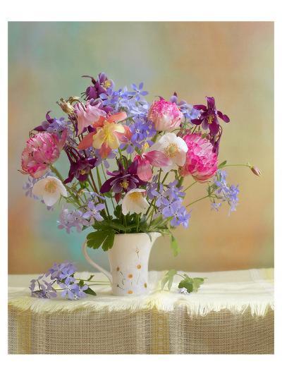 Colorful Flower Stilllife--Art Print