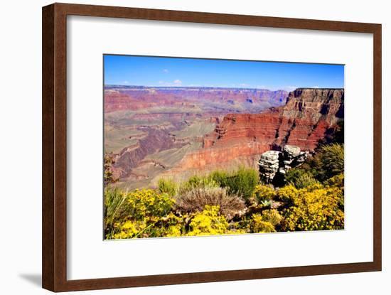 Colorful Grand Canyon-Jeni Foto-Framed Photographic Print
