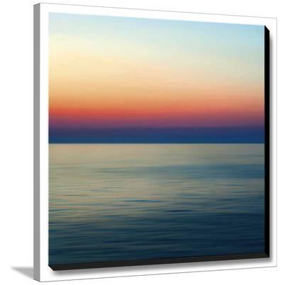 Colorful Horizons II-John Rehner-Stretched Canvas Print