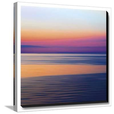 Colorful Horizons III-John Rehner-Stretched Canvas Print