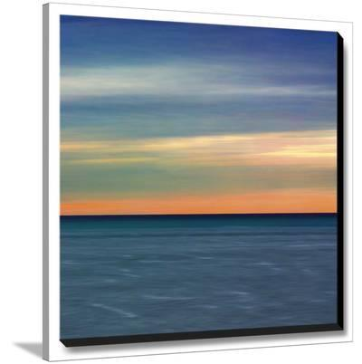 Colorful Horizons IV-John Rehner-Stretched Canvas Print