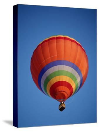 Colorful Hot Air Balloon in Sky, Albuquerque, New Mexico, USA