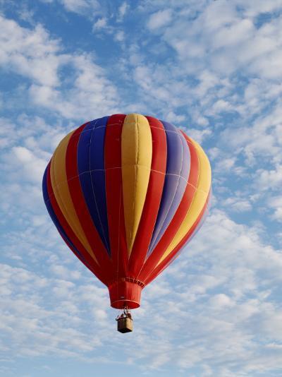 Colorful Hot Air Balloon in Sky, Albuquerque, New Mexico, USA--Photographic Print