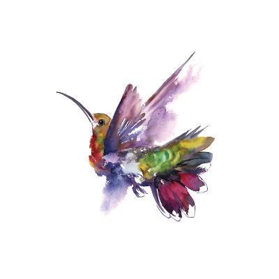 Colorful Hummingbird-Sophia Rodionov-Art Print