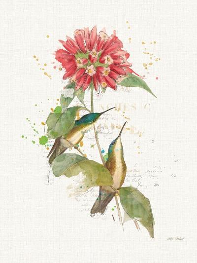 Colorful Hummingbirds I-Katie Pertiet-Art Print