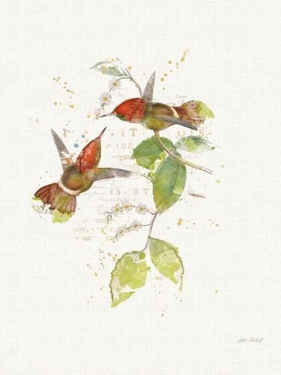 Colorful Hummingbirds II-Katie Pertiet-Art Print