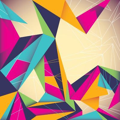 Colorful Illustrated Abstraction-Rashomon-Art Print