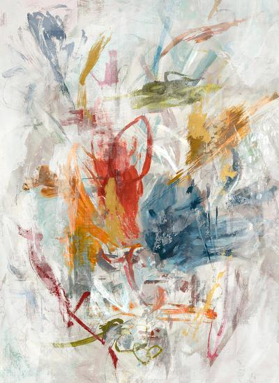 Colorful Impulse--Hand Embellished Art