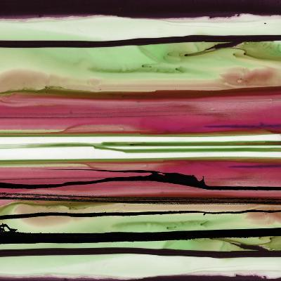 Colorful Ink Wash 1A-Tracy Hiner-Premium Giclee Print