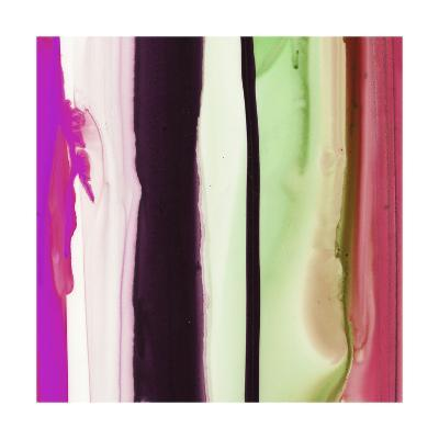 Colorful Ink Wash 2A-Tracy Hiner-Premium Giclee Print