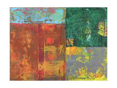 Colorful Leaf Imprint I-Elena Ray-Art Print
