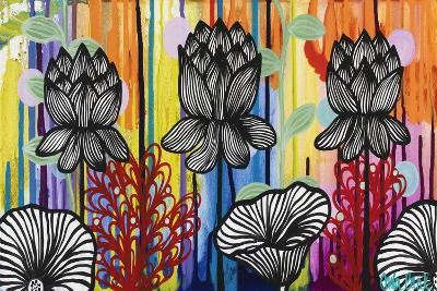 Colorful Lotus-Carla Bank-Giclee Print