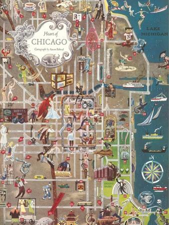 Colorful Map of Chicago