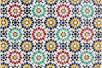 Colorful Mosaic Decoration-p.lange-Art Print