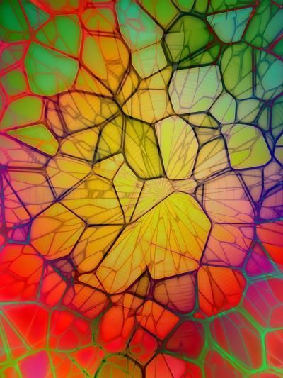 Colorful Mosaic Design-Wonderful Dream-Art Print