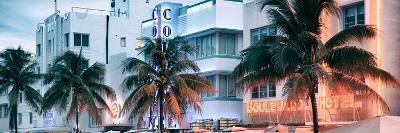 Colorful Ocean Drive - South Beach - Miami Beach Art Deco Distric - Florida-Philippe Hugonnard-Photographic Print