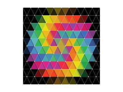 Colorful Pattern-Maksim Krasnov-Art Print