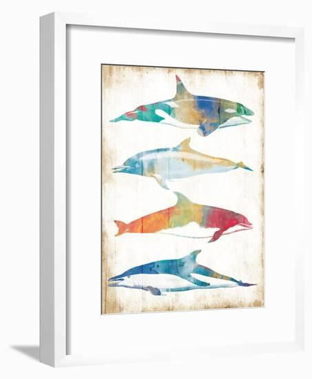 Colorful Sea Life-Milli Villa-Framed Art Print