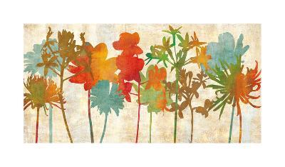 Colorful Silhouette-Erin Lange-Giclee Print
