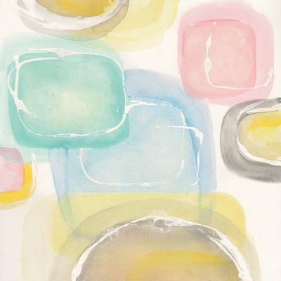 Colorful Squares II-Chris Paschke-Art Print