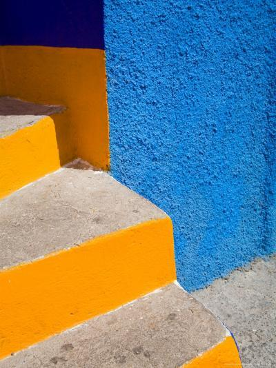 Colorful Stairs, Guanajuato, Mexico-Julie Eggers-Photographic Print