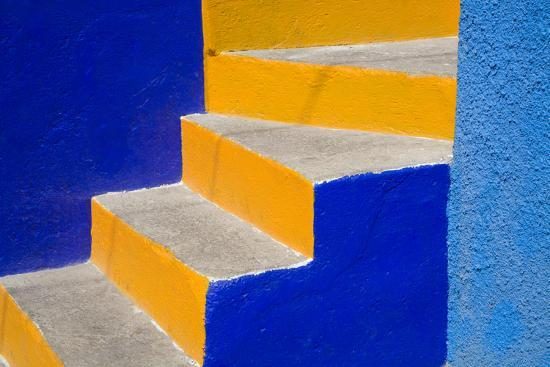 Colorful Stairs-Julie Eggers-Photographic Print