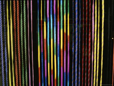 Colorful Strings in a Shop in Manila-Wolcott Henry-Photographic Print