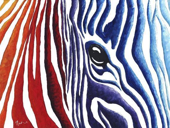Colorful Stripes I-Megan Aroon Duncanson-Giclee Print