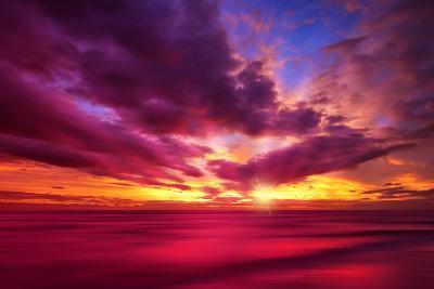 Colorful Sunset-Philippe Sainte-Laudy-Photographic Print