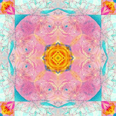 Colorful Symmetric Layer Work from Flowers-Alaya Gadeh-Photographic Print