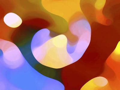 Colorful Tree of Light-Amy Vangsgard-Giclee Print