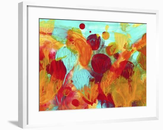 Colorful under the Sea Abstract-Amy Vangsgard-Framed Giclee Print
