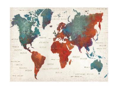 Colorful World I-James Wiens-Art Print