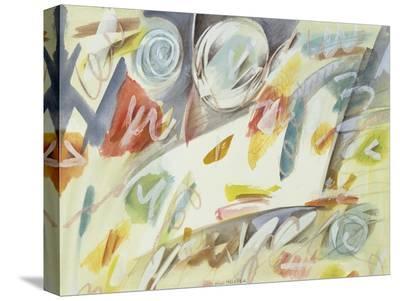 Colori sospesi-Nino Mustica-Stretched Canvas Print