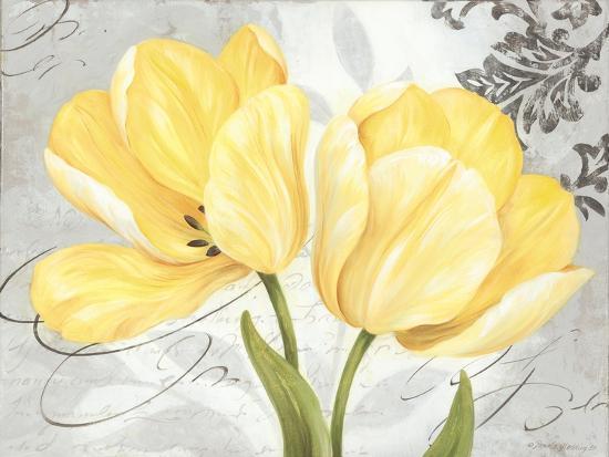 Colori Yellow II-Pamela Gladding-Art Print