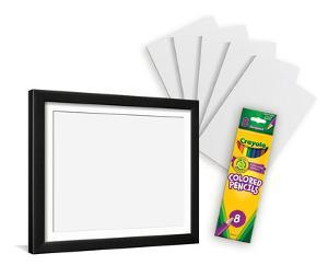 Coloring Pencil Kit With Frame
