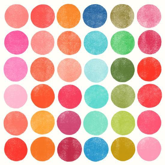Colorplay 5-Garima Dhawan-Art Print