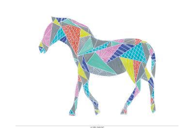 Colorpoly Horsia-Pam Varacek-Art Print