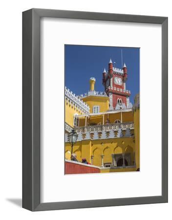 Colors and Decoration of the Romanticist Castle Palacio Da Pena, UNESCO World Heritage Site-Roberto Moiola-Framed Photographic Print